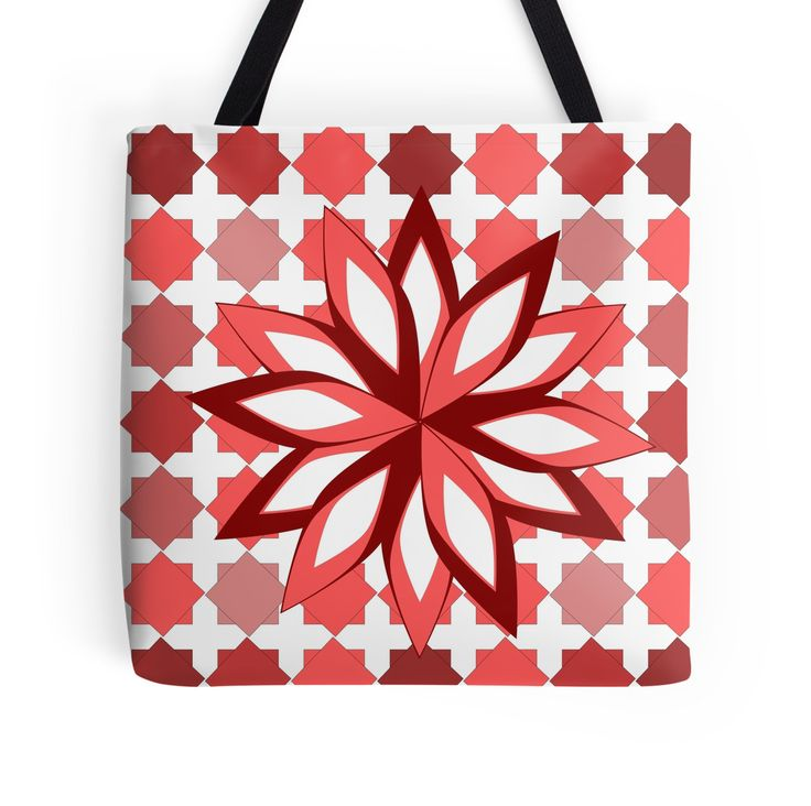 Check out this colorful floral #totebag, perfect for #spring.