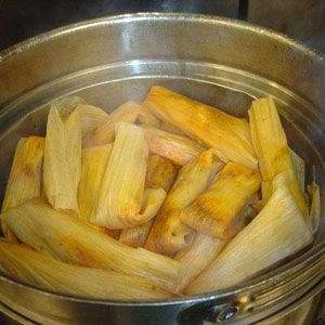 Dessert Tamales with Pineapple:   Award-winning chef Bill Smith shares his exclusive recipe for a delicious holiday dessert. You will need a steamer for this recipe. [click for recipe]