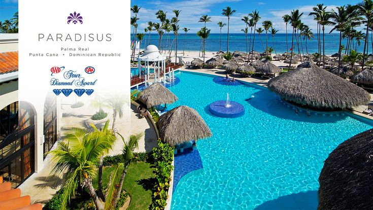 Punta Cana Vacations - Paradisus Palma Real Golf and Spa - All-Inclusive - This resort invites you to enjoy the Caribbean with all your senses.