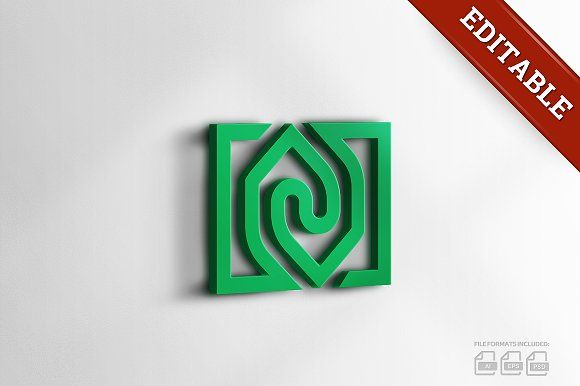 House Exchange Logo by logabo.ca on @creativemarket