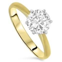2.10ct  Diamond Engagement Ring