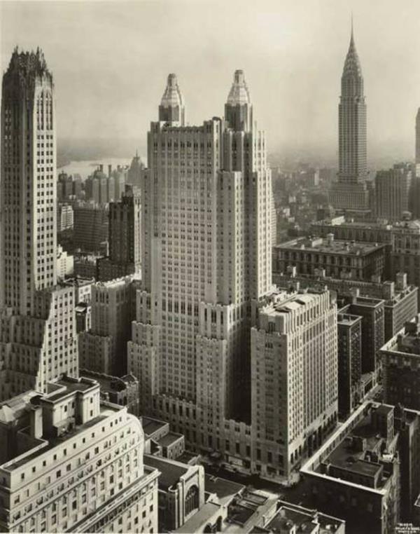 the waldorf astoria hotel new york lloyd morgan 1931. Black Bedroom Furniture Sets. Home Design Ideas