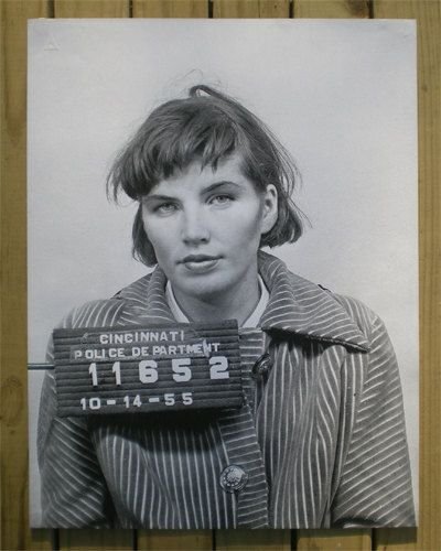 Best Mug Shot Magic Images On Pinterest Photography Artists - 15 vintage bad girl mugshots from between the 1940s and 1960s