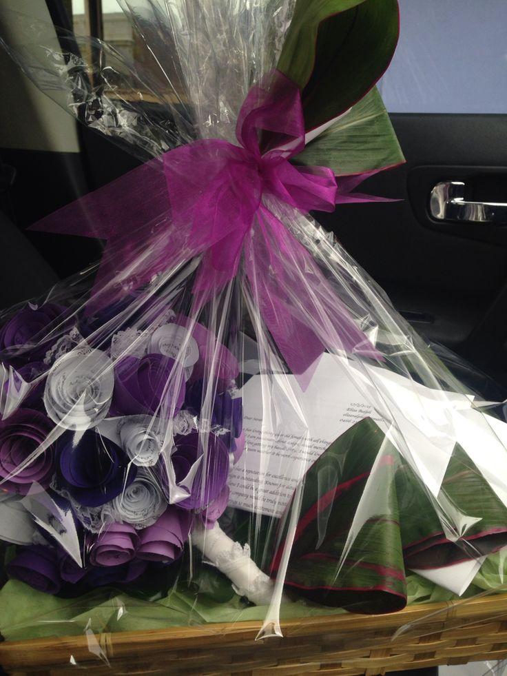 Good luck bouquet resume hamper