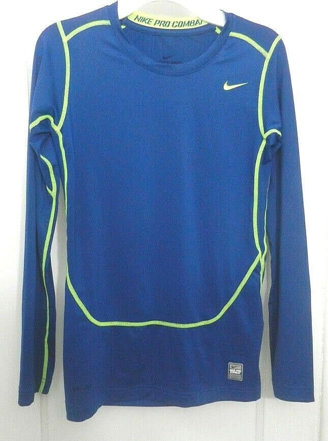 cf3b1f62a Details about Nike Pro Combat Athletic Dri-fit Compression Long Sleeve Shirt  Youth Size XL in 2019 | Smart Dressed Man | Nike pro combat, Long sleeve  shirts ...