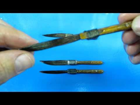 top secret pinstriping brush info (trimming your sword brushes)