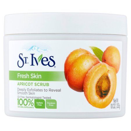 St. Ives Fresh Skin Apricot Scrub, 10 oz, Multicolor