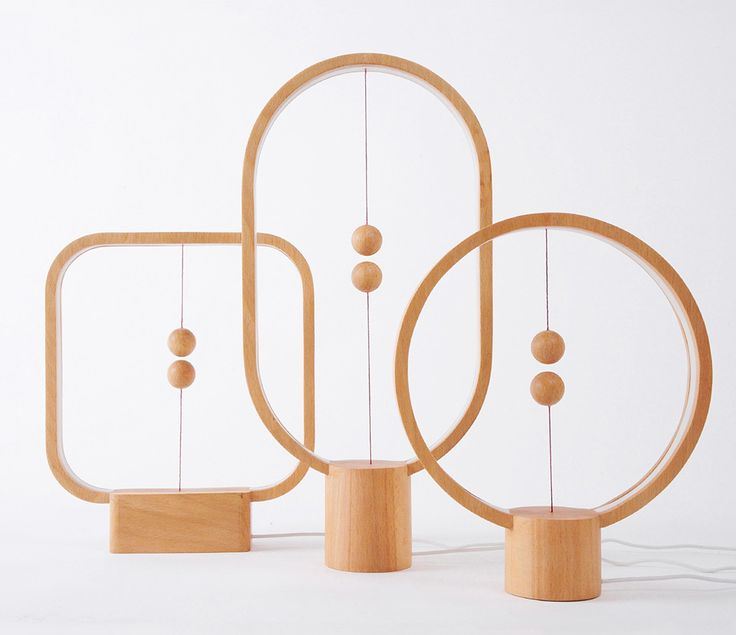 The Heng Balance Lamp Illuminates with a Suspended Magnetic Switch | Colossal
