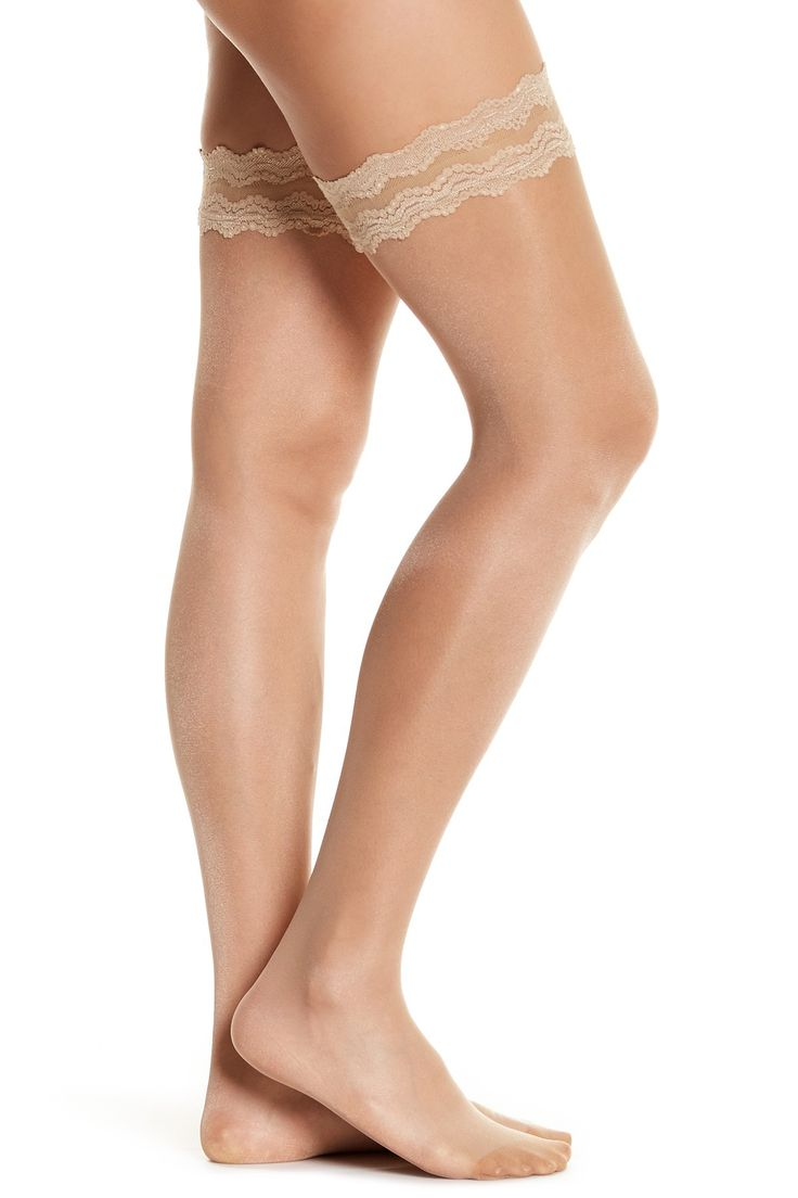 Day & Night 10 Stay Up Thigh High Tights