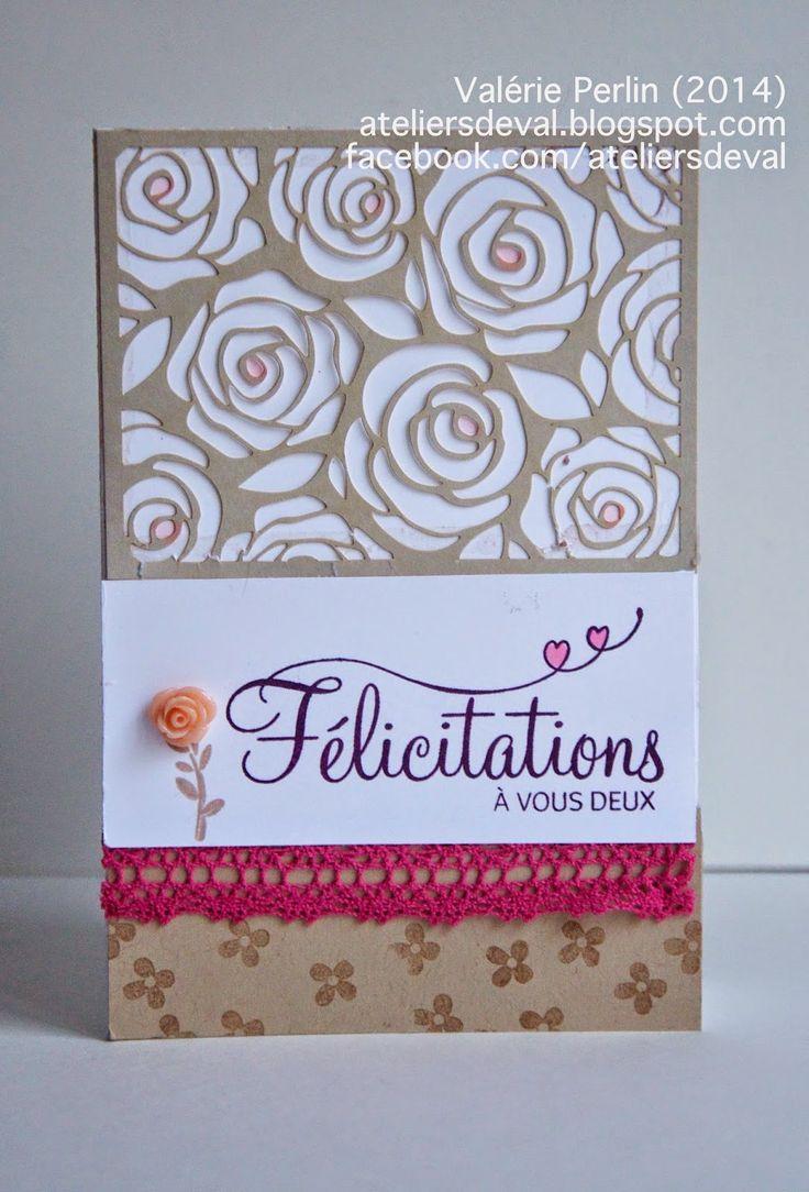 Les Ateliers de Val: Carte de félicitations pour jeunes mariés