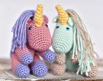 Amigurumi Unicorn Craft Kit | Crochet Kit |