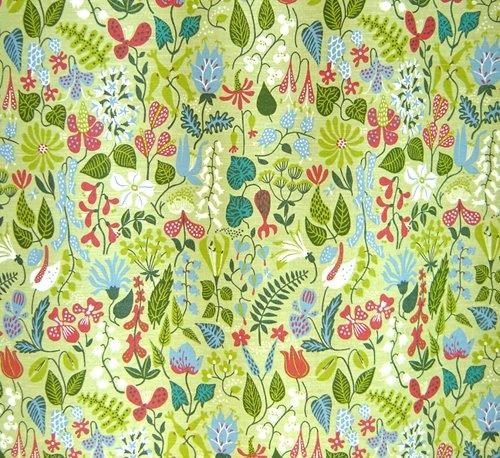 """tallyho"" textile by stig lindberg"