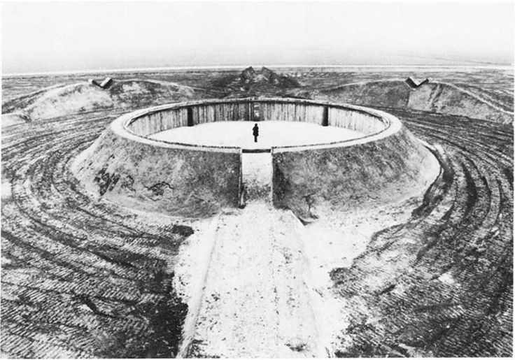 The Observatory is a land-art piece by Robert Morris located in Flevoland, in the Netherland
