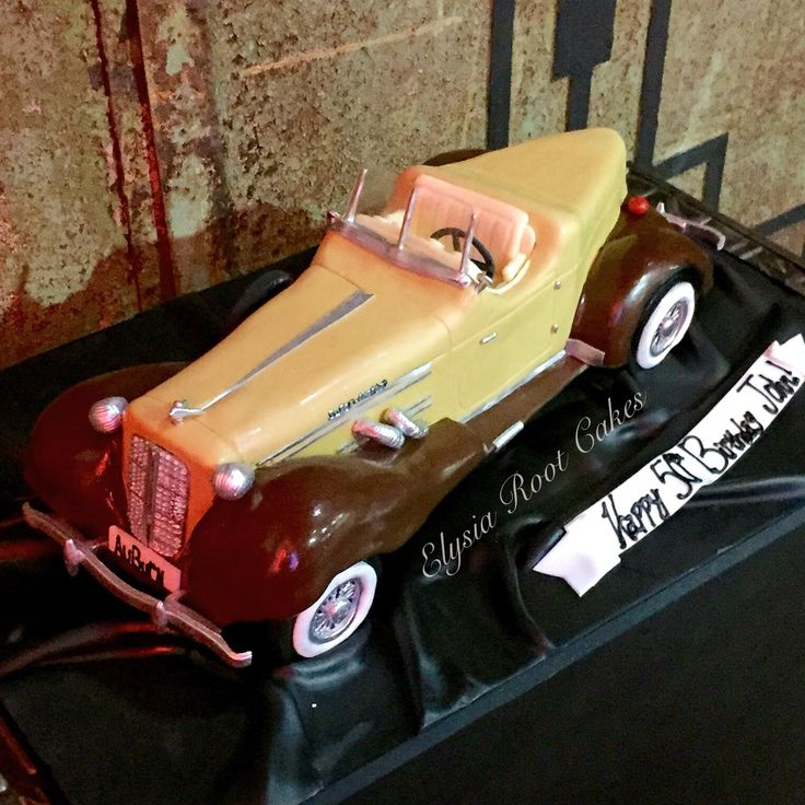 Best Antique Car Cake Images On Pinterest Car Cakes Antique