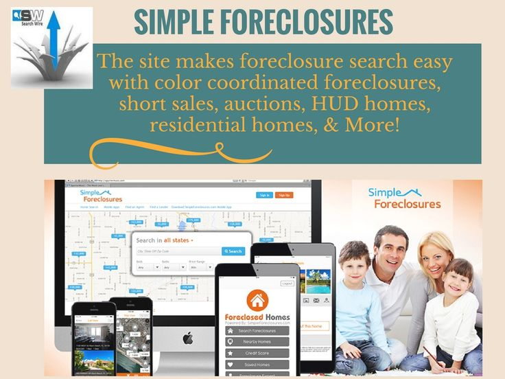 SimpleForeclosures.com offers foreclosed homes for sale, short sales, HUD homes, bank owned properties, liquidation properties, auction properties, residential homes, and many other types of investment properties.