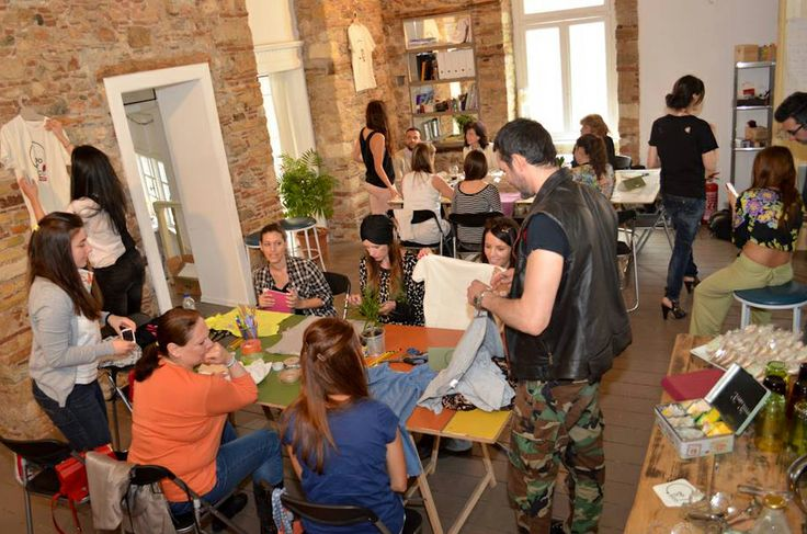 """DoitYourself Workshop"" Vol.1 powered by DoitEco Project @ IMPACT HUB Organized by Nopi Romanidou & Maria Perou @ Saturday 3rd of May Designers: Orsalia Parthenis, Pericles Kondylatos Vivianna Maraveya, and Konstantinos Mitrovgenis  Make up tips: Freddy Kalobratsos and the Freddy Makeup Stage Photography : George-Kwnstantinos Malekakis Presentation: Elena Gerarhaki Credits (photos): Marlena Teresa Strzyzewska Location: The Hub – Athens (	Karaiskaki 28, 10554 Athens)"