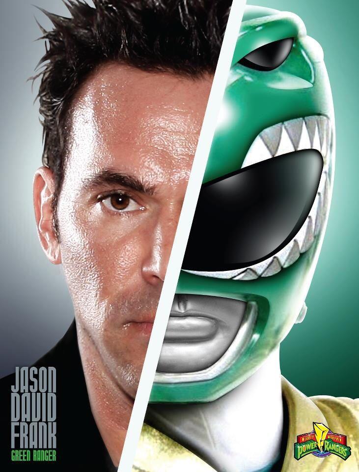 Jason David Frank/Green Mighty Morphin Power Ranger!