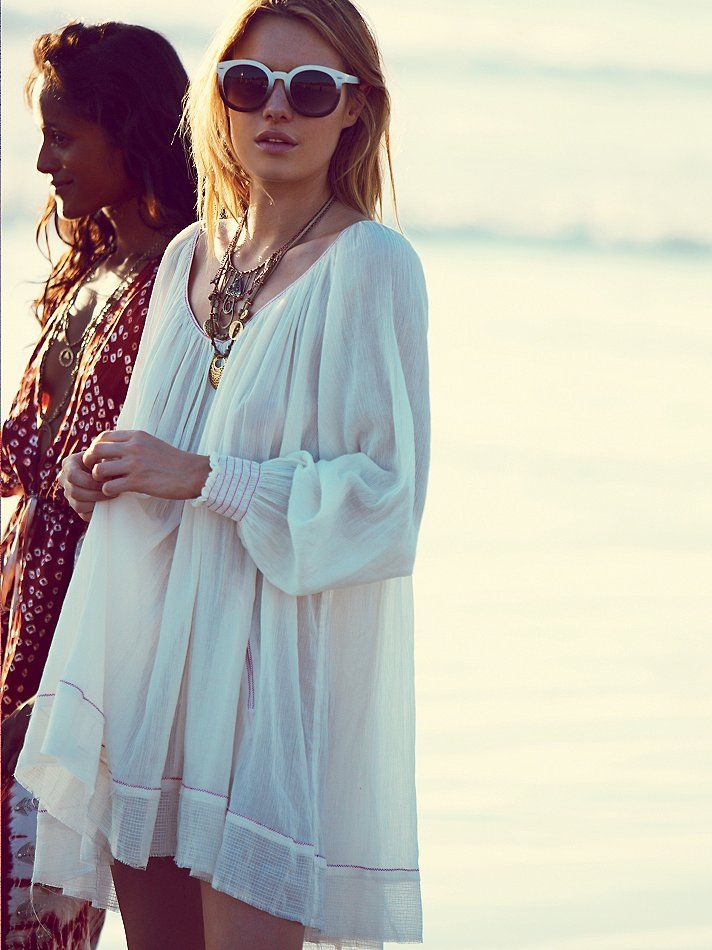 Free People Pop Stitch Swing Tunic at Free People Clothing Boutique
