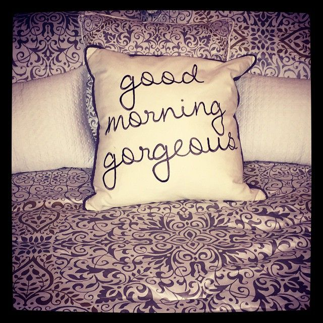 We d love to wake up with this awesome pillow! Make Your Home Amazing Pinterest Pillows ...