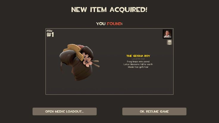 The one time the game drops me a hat... #games #teamfortress2 #steam #tf2 #SteamNewRelease #gaming #Valve