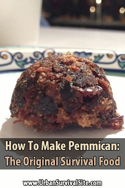 Pemmican is a portable, long-lasting, high-energy food. It's made of lean, dried meat that is crushed into powder and mixed with hot, rendered fat. via @urbanalan