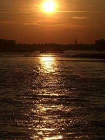 The Rhine, Dusseldorf, Germany