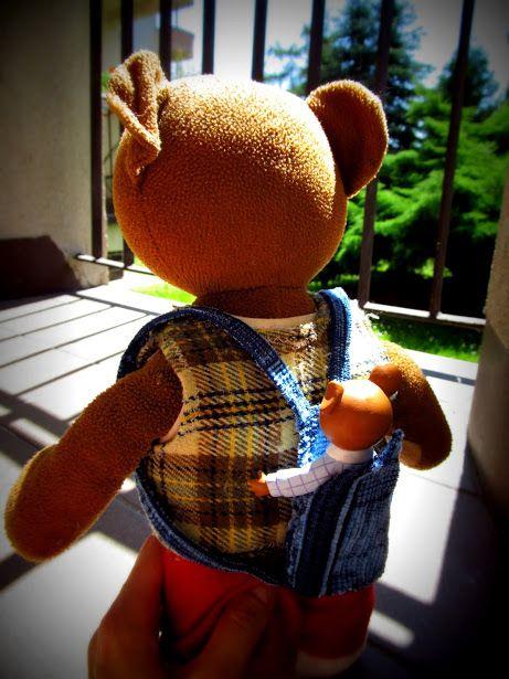 baby teddy bear carrier :)
