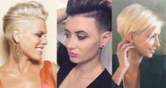 Eine Undercut Frisur ist eine Frisur, die immer beliebter wird. Frauen waren früher viel vorsichtiger mit dem Haarschneidegerät. Heutzutage sieht man immer mehr Frauen mit einer Undercut- oder Sidecut-Frisur. Bei Undercut Frisuren wird die Nackenpartie abrasiert, bei Sidecut Frisuren werden die Seiten abrasiert. Mach doch mal etwas Verrücktes und nimm das Haarschneidegerät! Wir haben 10extrem …