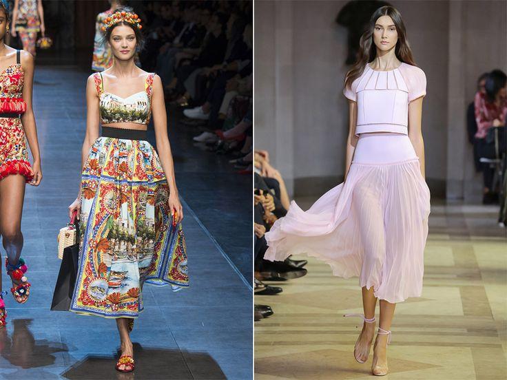 Юбка-солнце: Dolce&Gabbana, Carolina Herrera