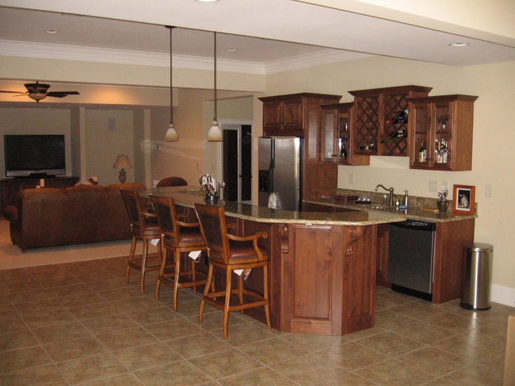 Just In Cabinets And Interiors LLC   Custom Bar