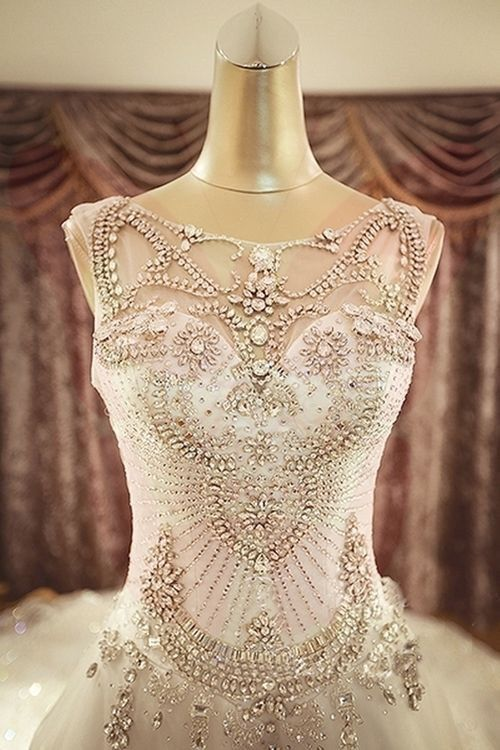 Beaded Wedding Details