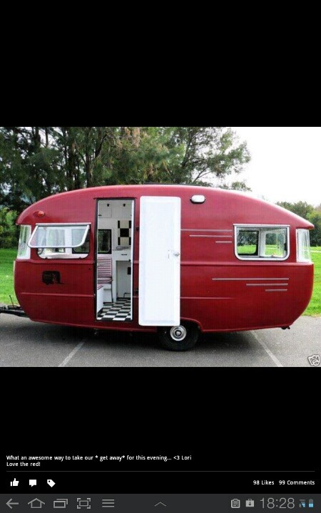 Caravan so retro