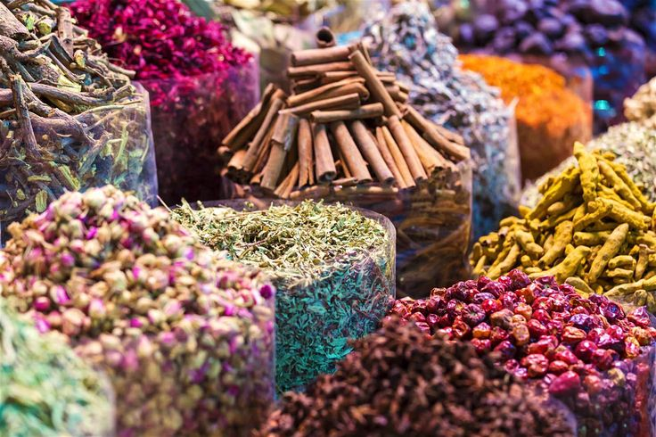 Bag a bargain or two in Dubai's famous spice souk