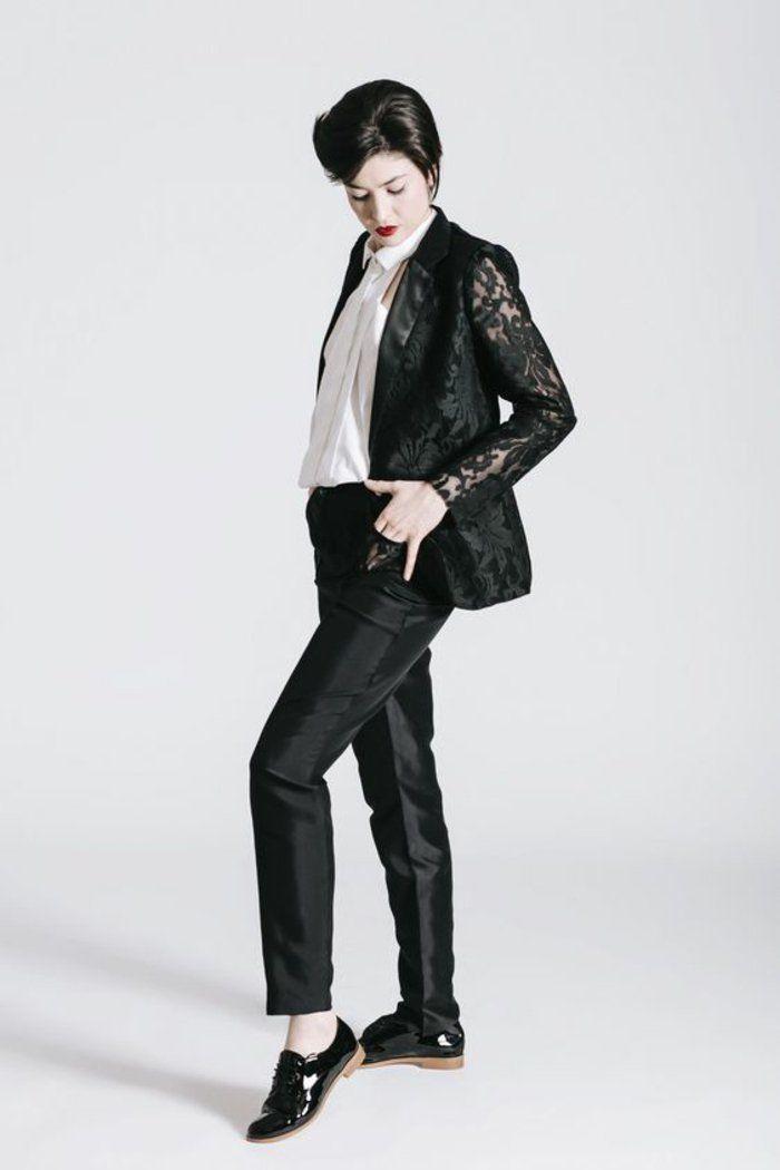 7dc861305cd2b ▷ 1001 + Idées pour un tailleur pantalon femme chic pour mariage + ...