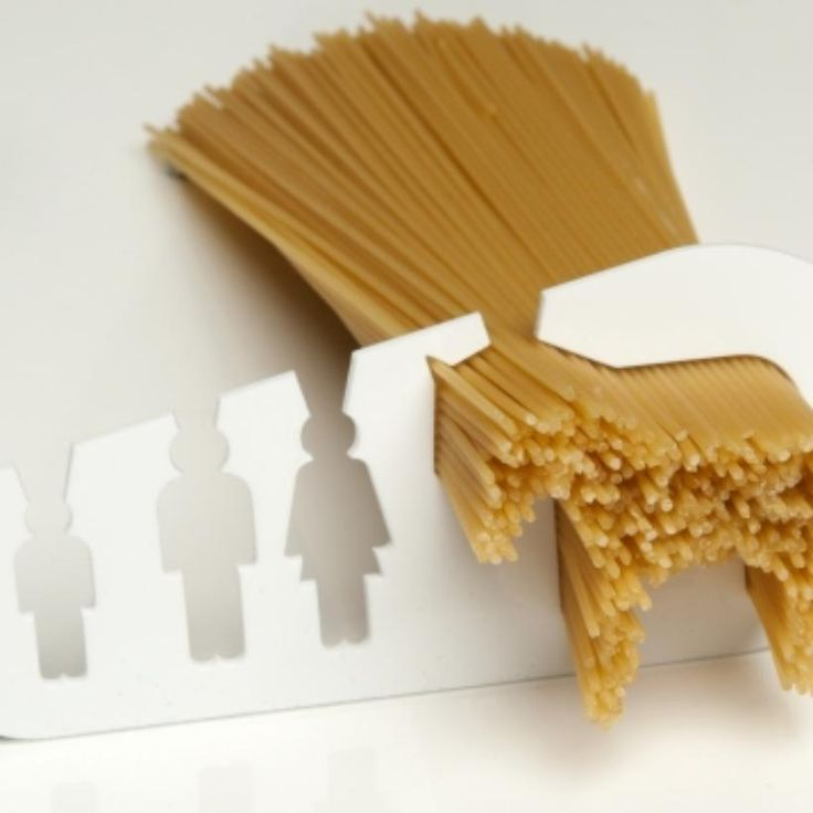 I-could-eat-a-horse Spaghetti measuring tool. Where has this been all my life?!