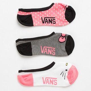 Hot Pink Hello Kitty Canoodle 3pk #Vans #dealsplus #hellokitty
