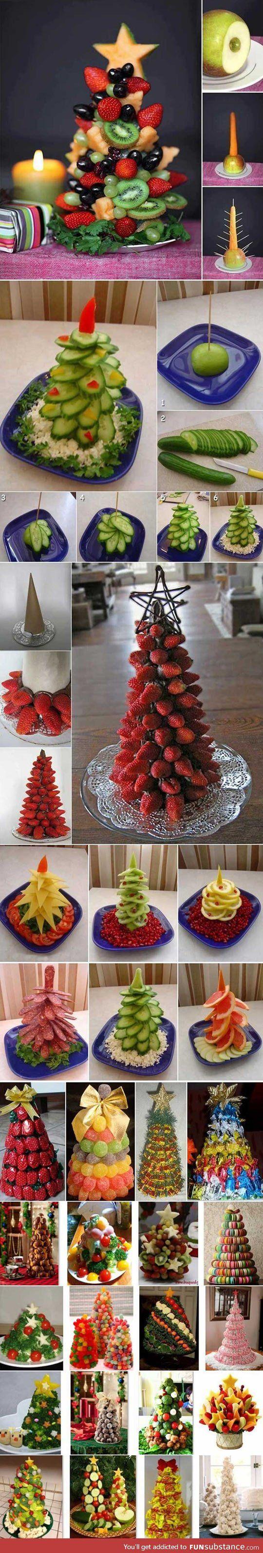 O Tannenbaum, O Tannenbaum! Bunte Ideen und #Inspiration für gesunde Tischdeko.