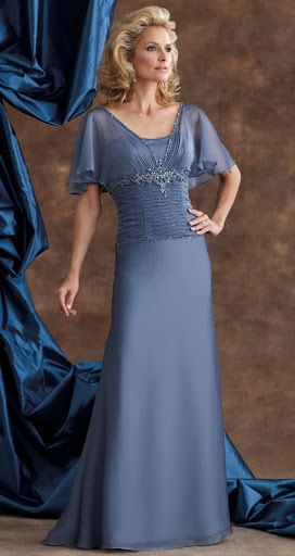110930 Plus Size Mother of The Bride Gowns. $740.00, via Etsy.