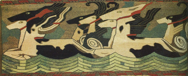 Gerhard Munthe: The Horse of the Sea, 1907