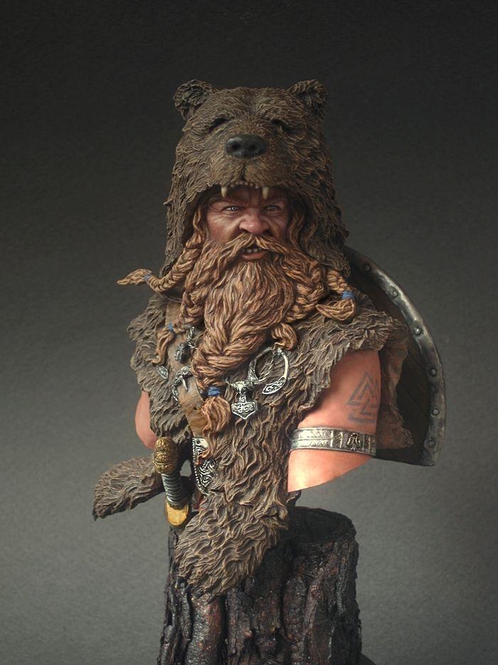 Going Berserk: Some Facts About the Elite Norse Warriors ...  Viking Berserker