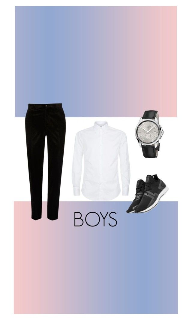 """""""Untitled #14"""" by nabillarzkynt on Polyvore featuring Brunello Cucinelli, Y-3, Gucci, River Island, men's fashion and menswear"""