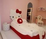 Cama de Hello Kitty