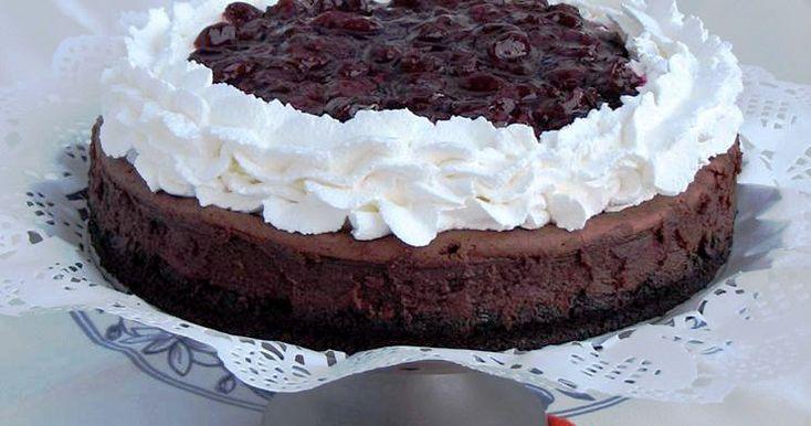 #cheesecake #blackforest #chocolatecheesecake #gustdivin