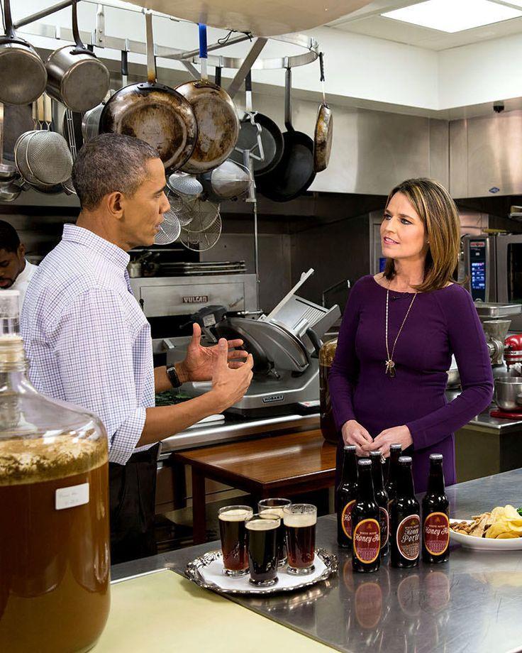 Barack Obama: President Barack Obama With Nbc S Savannah Guthrie - 8X10 Photo (Cc-079) -> BUY IT NOW ONLY: $9.98 on eBay!
