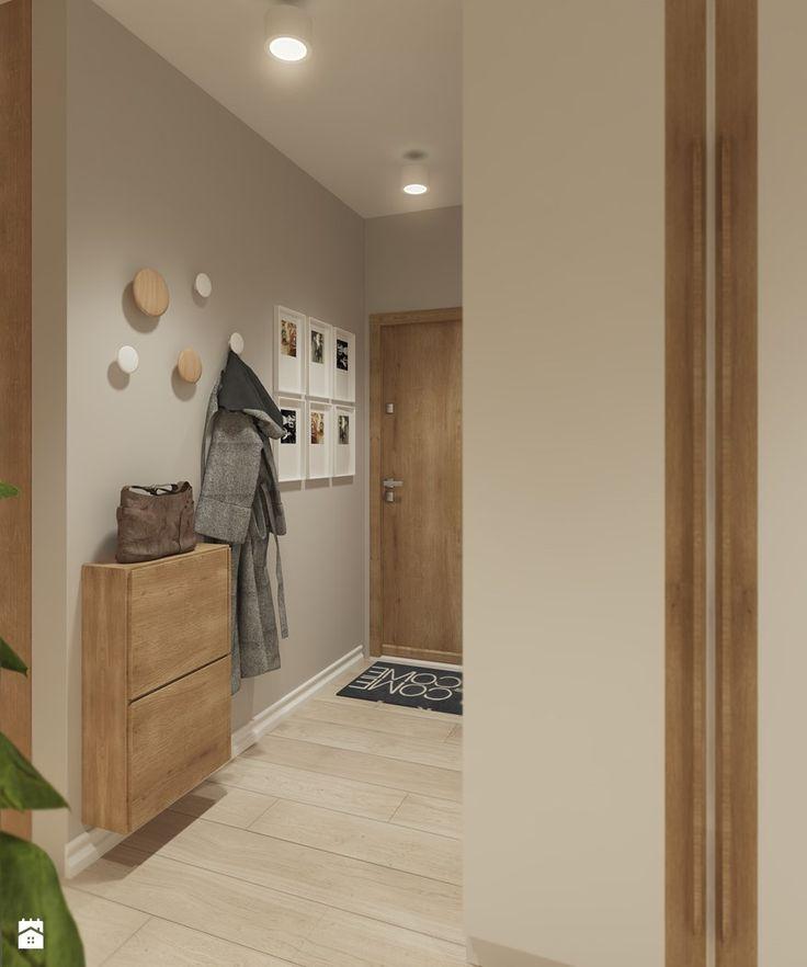 Hol- widok na wejście do mieszkania - zdjęcie od Mohav Design - Hol / Przedpokój - Styl Nowoczesny - Mohav Design
