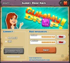 Gummy Drop Hack Cheats Tool Online 2017 Tool New Gummy Drop Hack Cheats Tool download undetected. This is the best version of Gummy Drop Hack Cheats Tool, voted as best working tool.