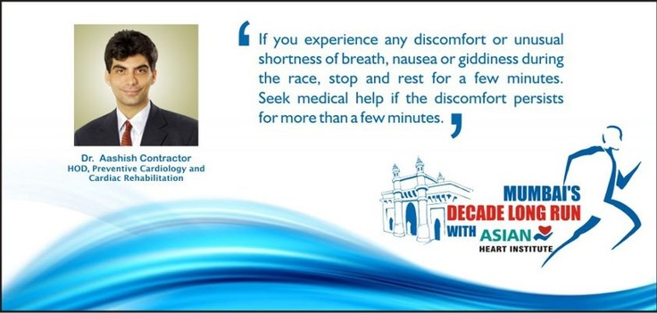 Dr. Aashish Contractor shares some tips on running safe at the Mumbai Marathon.