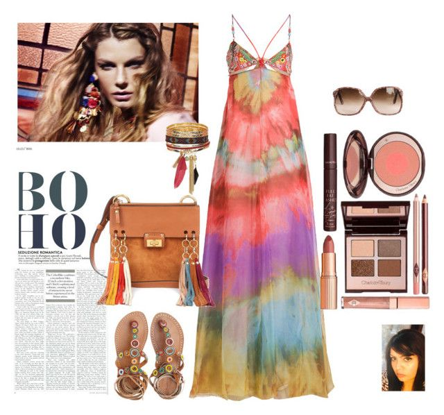 """Boho Chic"" by gaya-vas ❤ liked on Polyvore featuring Emilio Pucci, Chloé, Laidback London and New Look"