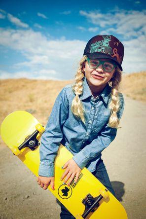 Skater girl | Eva Kolenko Photography #kids #cool #style