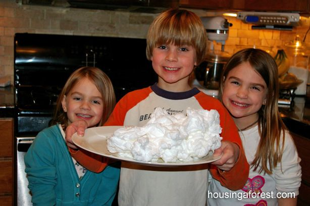 Ivory Soap Experiment: a bar of ivory soap in the microwave for two minutes. Let it cool before children touch it!